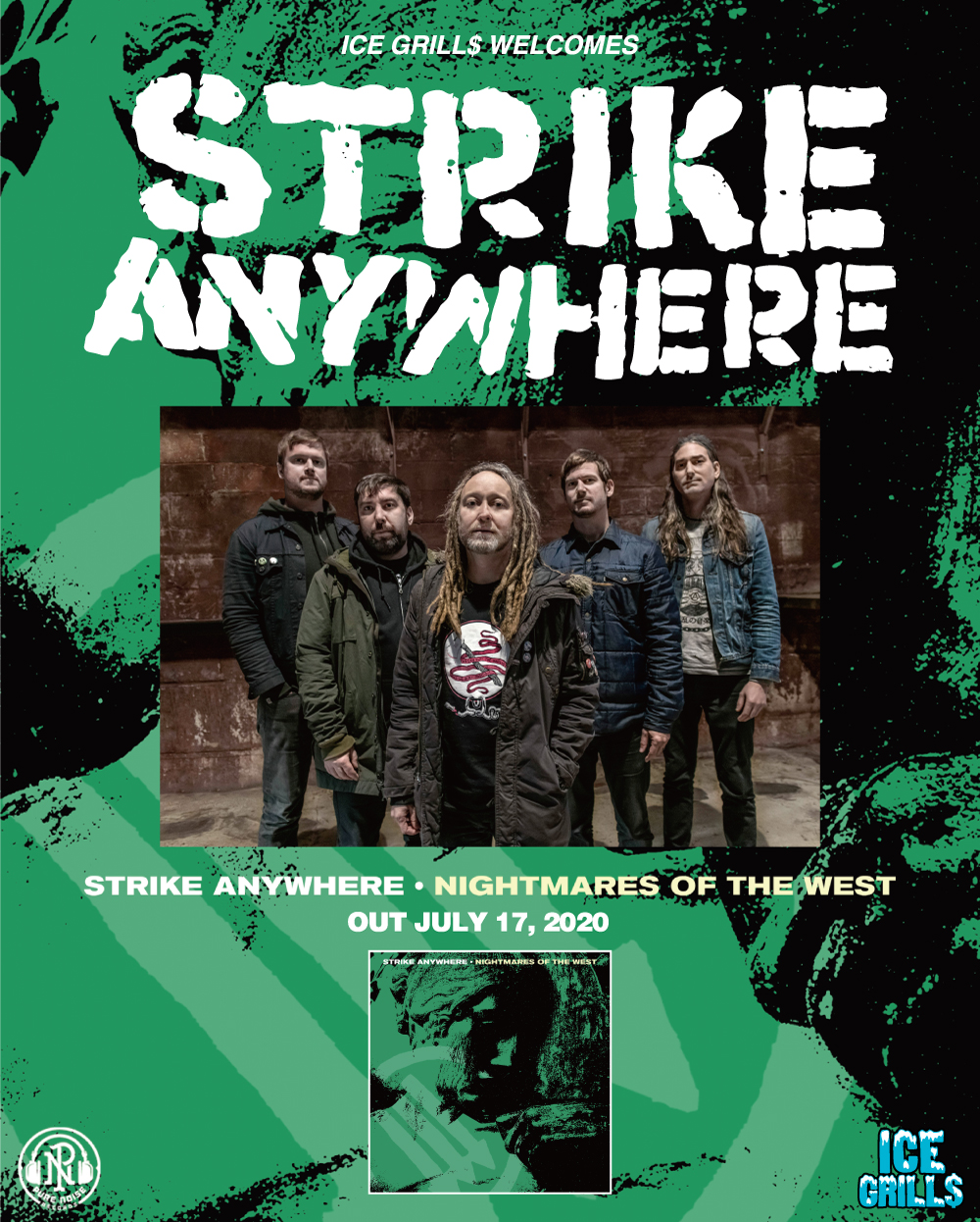 Strike Anywhere – New EP 'Nightmares of the West' out July 17, 2020