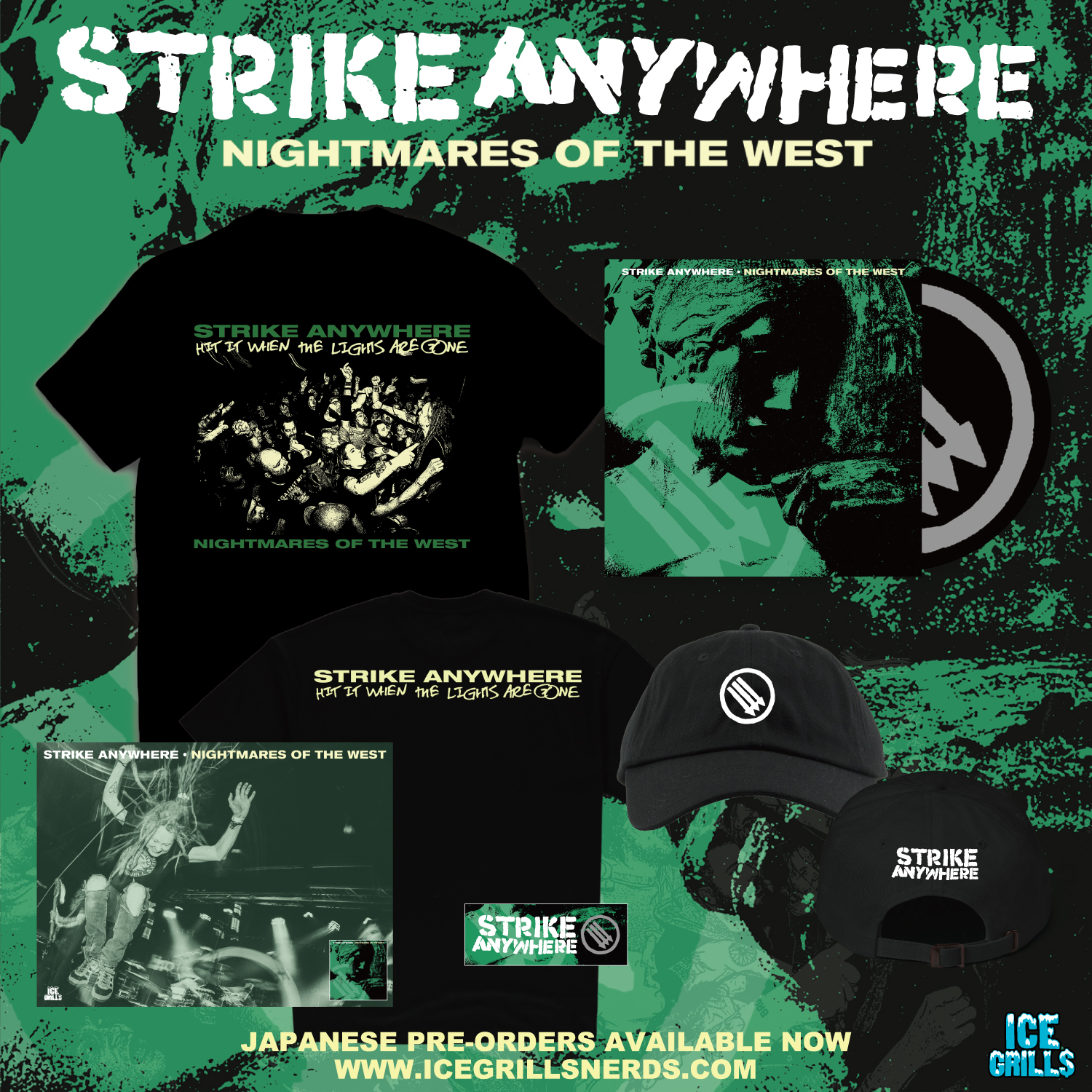 "Strike Anywhere – New EP ""Nightmares of the West"" Pre-orders"